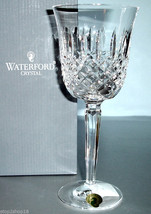 Waterford Kelsey Crystal Wine Glass #6141080600 New in Box - $58.90