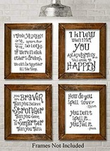 Winnie the Pooh Quotes and Sayings - Set of Four Photos 8x10 Unframed - ... - $18.64