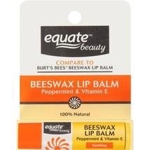 Equate Beauty Peppermint & Vitamin E Beeswax Li... - $15.04