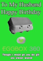 Xbox Personalised Large Birthday Card egg box Humor Husband code)   - $3.87