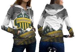 Packernet Green Bay Packer Pullover Fullprint Hoodie For Women - $55.99