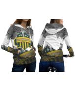 Packernet Green Bay Packer Pullover Fullprint Hoodie For Women - $55.99