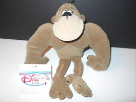 "New Disney Store George of the Jungle 8"" Bean Bag Plush - $7.49"