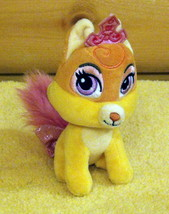 "Disney Princess Rapunzel Palace Pet Whisker Haven Golden Fox Plush 6"" NUZZLES - $6.49"