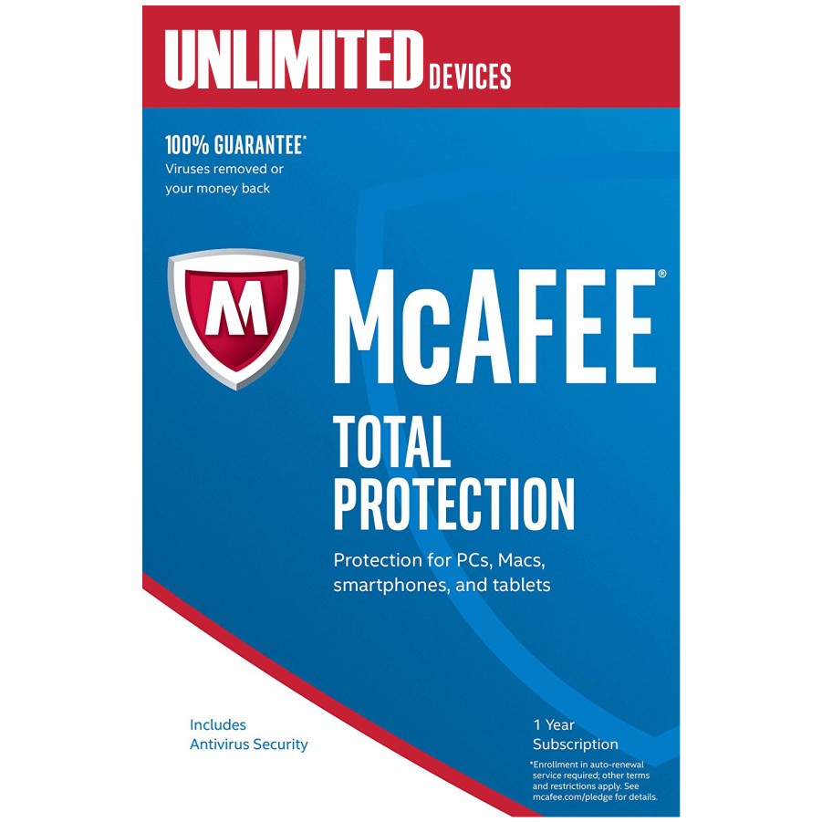 McAfee Total Protection 2019 1 Year and 25 similar items