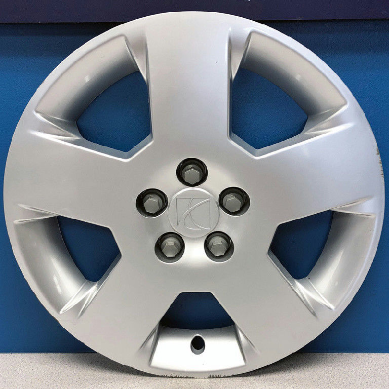 "Set 4 17/"" OEM Dodge Avenger Hubcaps Silver Hub Caps 1TQ14PAKAA Wheel Covers"