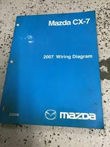 2007 Mazda CX-7 CX7 Electrical Wiring Diagram Service Repair Shop Manual... - $89.05