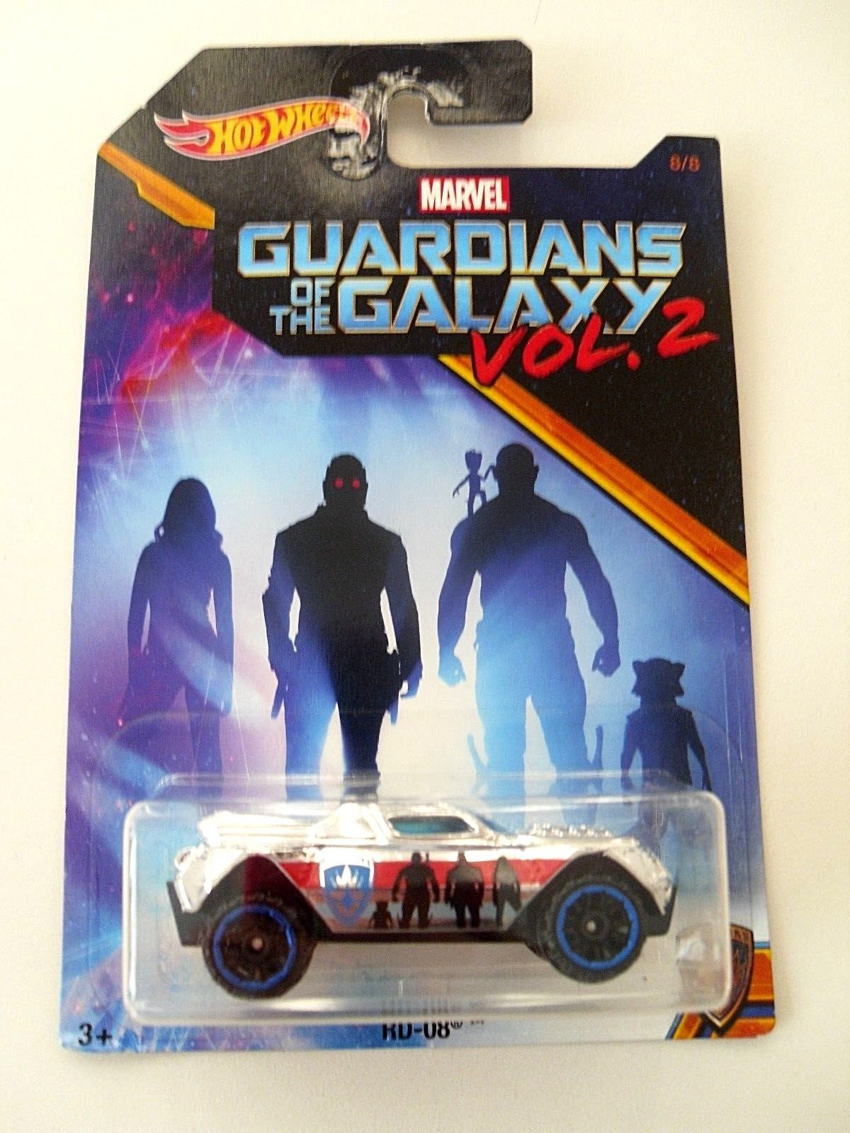 HOT WHEELS MARVEL GUARDIANS OF THE GALAXY VOL 2 RD-08 8/8
