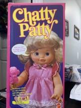 "RARE Vintage CHATTY PATTY Mattel 16"" DOLL 1983 Talks Pull String 7023 NI... - $64.35"