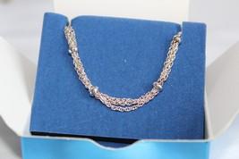 "NIB 2009 AVON Silvertone Multi-Chain 7-8"" Bracelet AV9 - $12.00"
