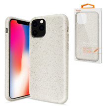 Reiko APPLE IPHONE 11 PRO Wheat Bran Material Silicone Phone Case In White - $9.38