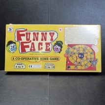 Funny Face Co-Operative Mime Game Clowns Family Time Board Game - $19.99