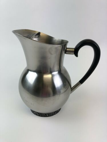 Vintage Oneida Custom Stainless Steel 18/8  Water Pitcher