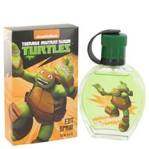 Teenage Mutant Ninja Turtles Michelangelo By Marmol & Son Eau De Toilette Spray - $14.95