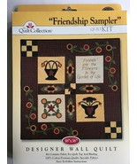 Quilt KIT Friendship Sampler 36 x 36 WALL QUILT Quilt Collection NEW - $19.99