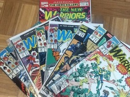 The New Warriors 8 book lot.(1992, Marvel)fn-vf/nm. Vol 1 - $25.00