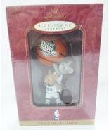 Hallmark keepsake christmas ornament detroit pistons mouse NBA basketball - $9.89