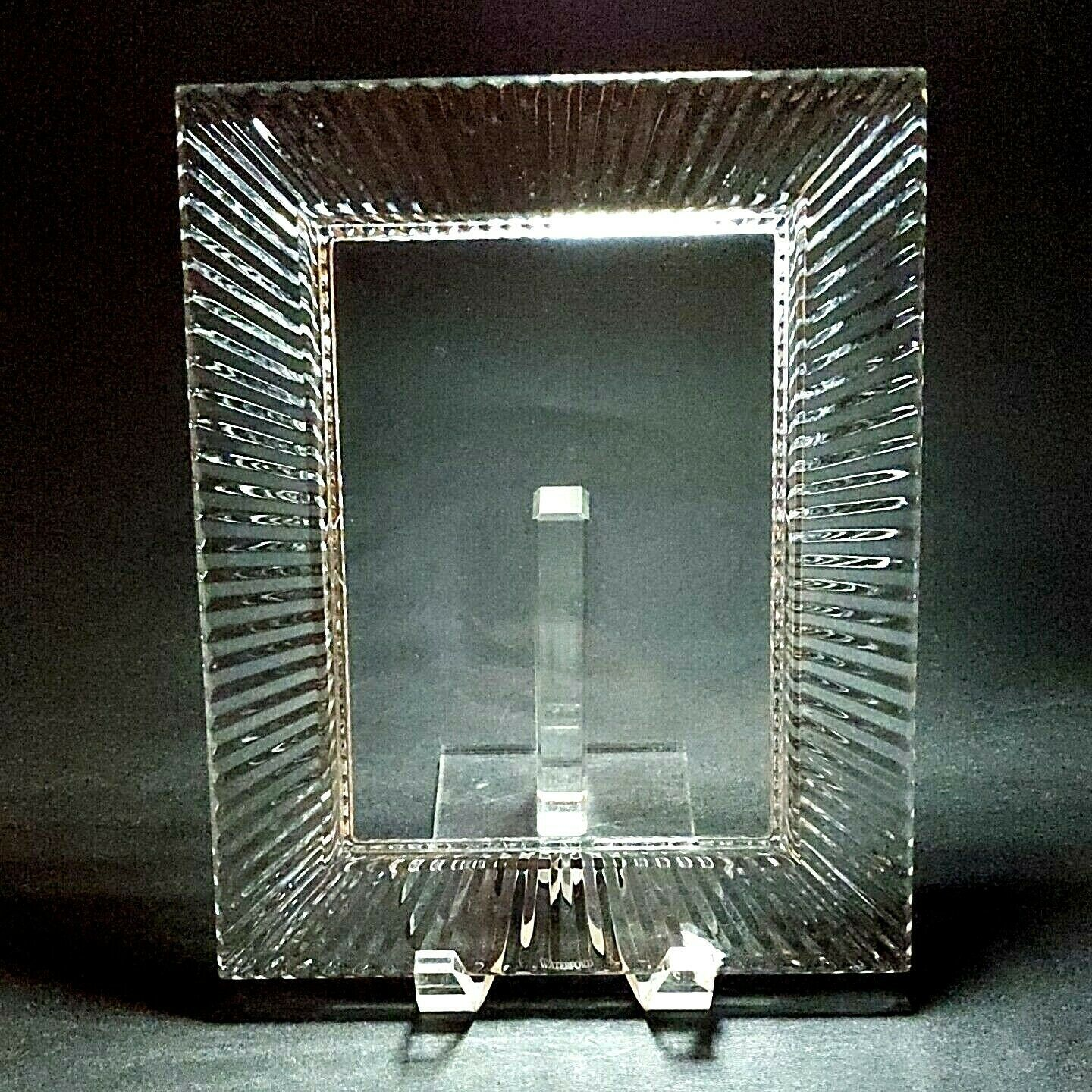 Primary image for 1 (One) WATERFORD SOMERSET Replacement Cut Crystal 4x6 Frame Made in Ireland D/C