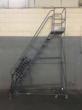 """TriArc 10 Step Angle Saftey Platform Ladder 100"""" - $750.00"""