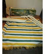 Vintage Algoma 4 Point Hammock and Stand Complete IOB - $74.95