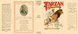 Burroughs, Edgar Rice TARZAN AND THE GOLDEN LION facsimile  jacket  1st ... - $21.56
