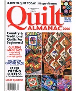 Back Issue of Quilt Almanac 2006 with 55 Pages of Quilt Patterns - $7.99