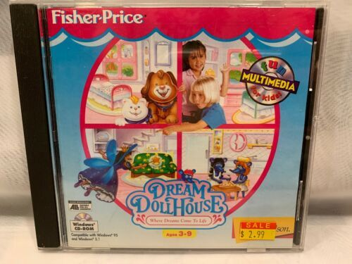 Dream Peluche Maison Fisher Price PC Video Game image 1