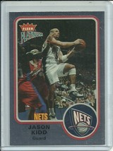 2002-03 FLEER PLATINUM FINISH #75 JASON KIDD 16/100 NETS FREE SHIPPING  - $19.99