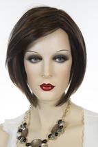Midnight Cocoa Medium Short Lace Front Monofilament Hand Tied Jon Renau Wigs - $368.91