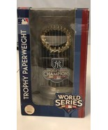 2009 New York World Series Trophy Paperweight Forever Collectibles - $23.38