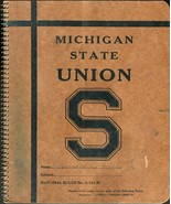 (Two) Vintage Michigan State Marginal Ruled Notebooks - S-761-M - $8.01