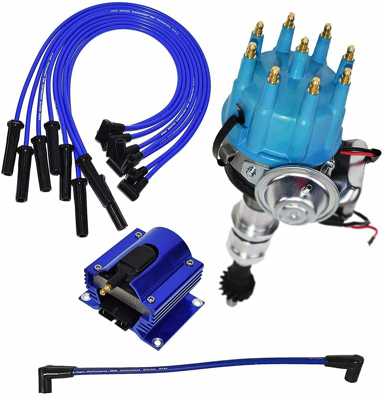 Ford R2R Distributor 351C 351M 400 370 429 460 8mm Spark Plug Kit