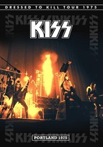 KISS Rock Band Dressed To Kill Portland Oregon Stand-Up Display - Concert - $15.99