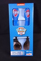 Paw Patrol MARSHALL spoon & fork flatware set easy grip handles NEW Nick... - $4.95