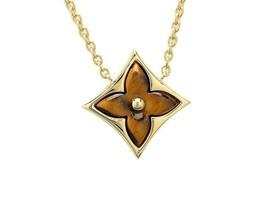 Authentic Louis Vuitton Pendentif Star Weil de Teagle Necklace Q93594 K18YG Used - $3,226.98