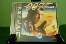 World Is Not Enough (Sony Black Label PlayStation 1 PS1, 2000) VG+ Condi... - $14.80