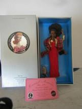 RARE 1994 MATTEL 35TH ANNIVERSARY AFRICAN AMERICAN SHOW DOLL LTD ED 480 ... - $226.71