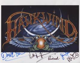 Hawkwind (Band) SIGNED Photo + COA Lifetime Guarantee - $99.99