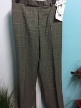 Philippe Adec Women's Pants Size 6 Wool Dressy Glenn Plaid NWT - $15.95