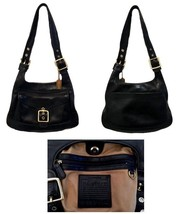 Coach Black Legacy Saddlebag Handbag 9340 - $145.00