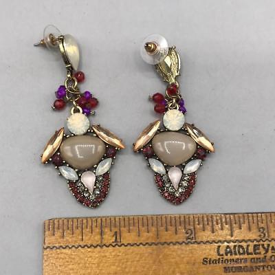 Vintage Post Dangle Pierced Earrings