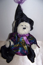 Bearington Collection colorful Witch plush bear - $6.32