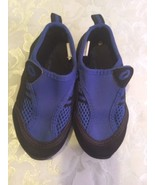 Boys Size 8   O'Rageous water shoes blue and black  - $12.79