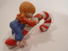 Country Cousins Figurines Enesco Vintage Porcelain Christmas Ornament 1987 - $5.95