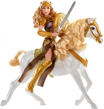 Mattel DC Wonder Woman Queen Hippolyta & Horse Deluxe Doll Set NEW!  - $28.49
