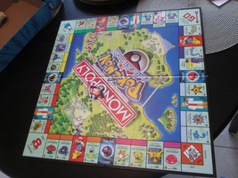 m272 Pokemon Monopoly 1999 Collectors Edition GAME BOARD ONLY Replacemen... - $9.89