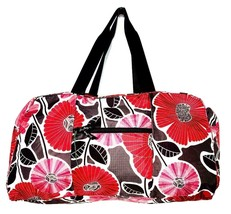 Vera Bradley - Packable Duffel Ultra Light Weight Nylon Weekend Travel L... - $29.98