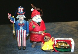 Hallmark Handcrafted Ornaments AA-191785 Collectible (4 Pieces ) image 2