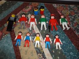 1974 - 1981 Geobra Playmobil Collectible 13 Toys Lot Esso Man - Lego Pol... - $64.60