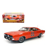 1969 Dodge Charger Dukes Of Hazzard General Lee 1/18 Diecast Car Model b... - $159.25